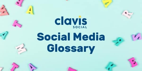 social media glossary