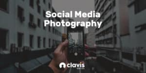 social media photography graphic